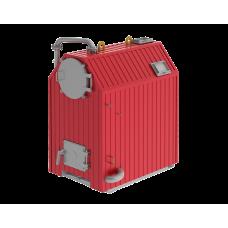 Котёл водогрейный водотрубно-дымогарный в лёгкой обмуровке на стальной раме ARCUS FUMO-400 К (КВр-0.4 К) (водоохлаждаемая уголковая решётка)