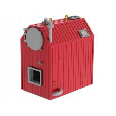 Котёл водогрейный водотрубно-дымогарный в легкой обмуровке на стальной раме ARCUS FUMO-400 ГМ (КВа-0,4 ГМ)